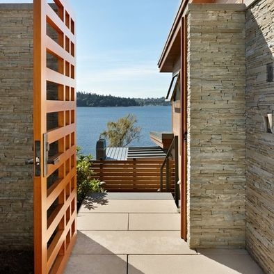 modern house entrance gate. 9 best Front Gates images on Pinterest   Front gates  Modern fence