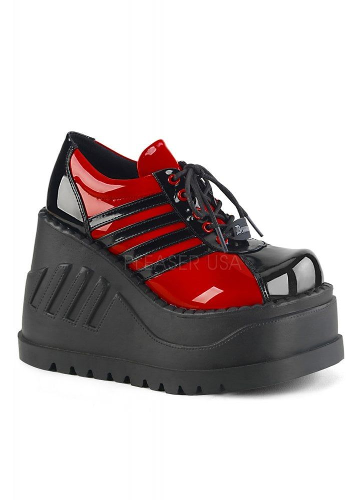 ae2210541d58 Stomp 08 Red Platform Wedge in 2019