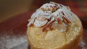 Try this Baked Apple Almond Cakes recipe by Chef Anna Olson. This recipe is from the show Fresh.