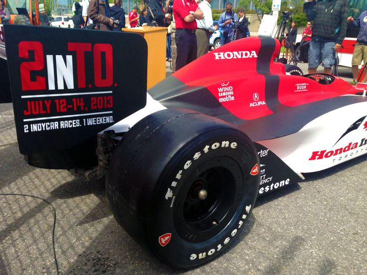 Eleven turns, 2.84 km and more then 2,050 of steel-reinforced concert barriers.  Join me July 12th -14th as I cover the Honda Indy Toronto as they celebrate this year #2inTO.