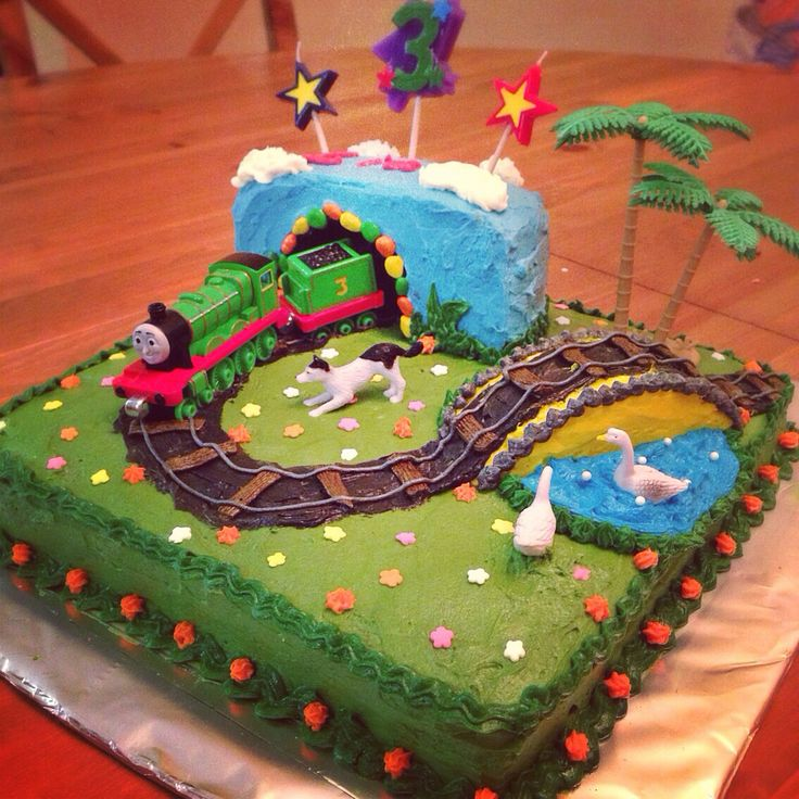 Train Cake Birthday Cake Cake Cake Decorating