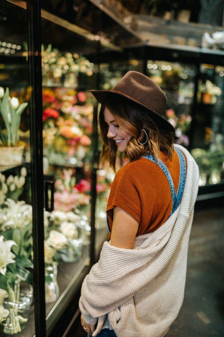 Flowers + Overalls  WanderlustOutWest.com