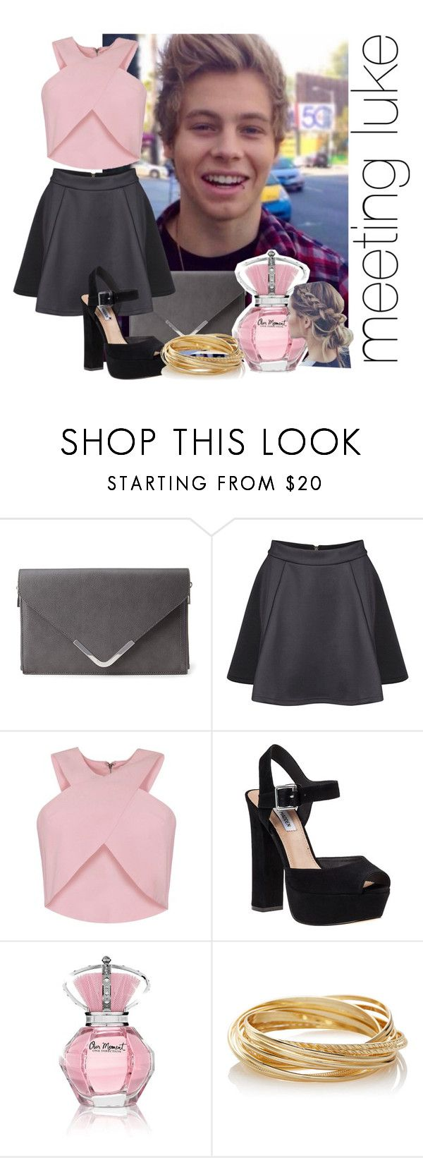 """""""meeting luke"""" by rosa-brooks ❤ liked on Polyvore featuring Forever 21, Dex, Steve Madden and The Limited"""