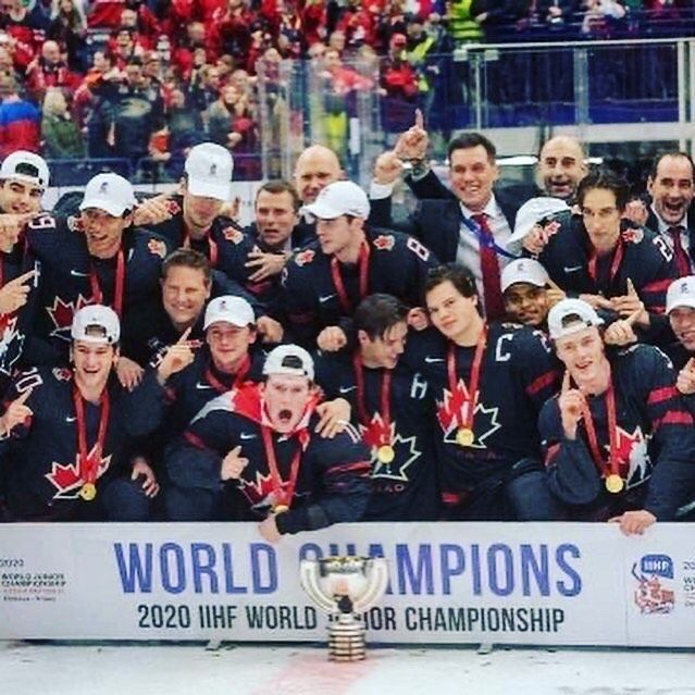 Congratulations To Team Canada As They Take Home The Gold At The World Juniors Team Canada Defeated Team Russia By A Final Score Of 4 3 Canada Was Down 3 1 Go 2020