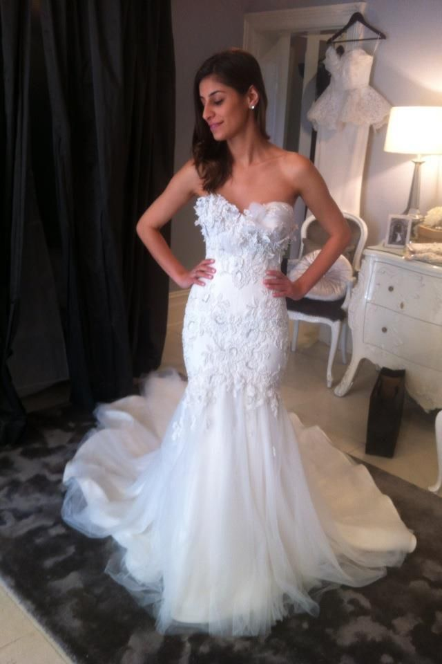 161 best images about my work on pinterest for Steven khalil mermaid wedding dress