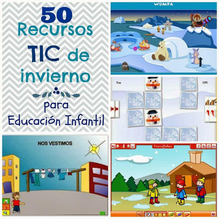 Recursos de todo http://lluviadeideasyrecursos.blogspot.com.es/search/label/invierno
