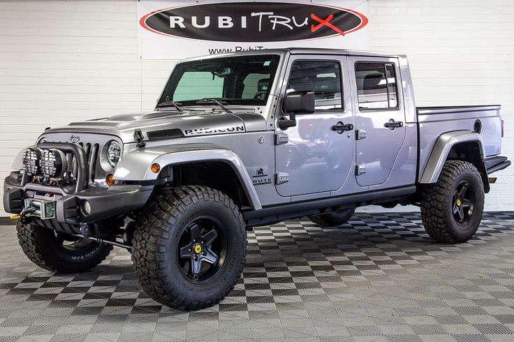 PreOwned 2013 Brute Double Cab Billet Jeep truck, Cab