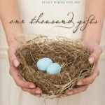 Ann Voskamp's Best Selling Book One Thousand Gifts – A Collision of Inspiration and the New Spirituality