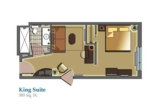 Hotel room floor plans columbus hotels hotels in columbus ohio king suite cambria Room floor design