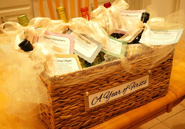 Wedding Shower Gift Diy : Wedding Shower, Girl, Wedding Gift, Pleasures Diy, Bridal Shower Wine ...