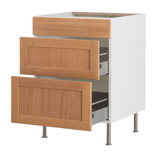 Ikea Kitchen Cabinet Option 2: Tida Oak