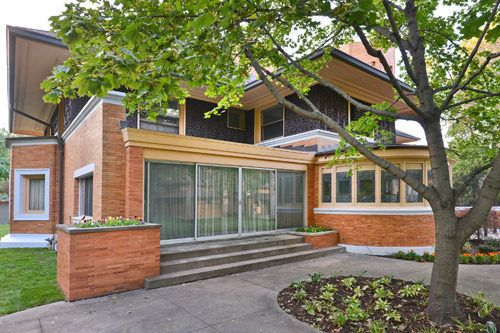 17 best images about flw winslow house on pinterest for Frank lloyd wright river house