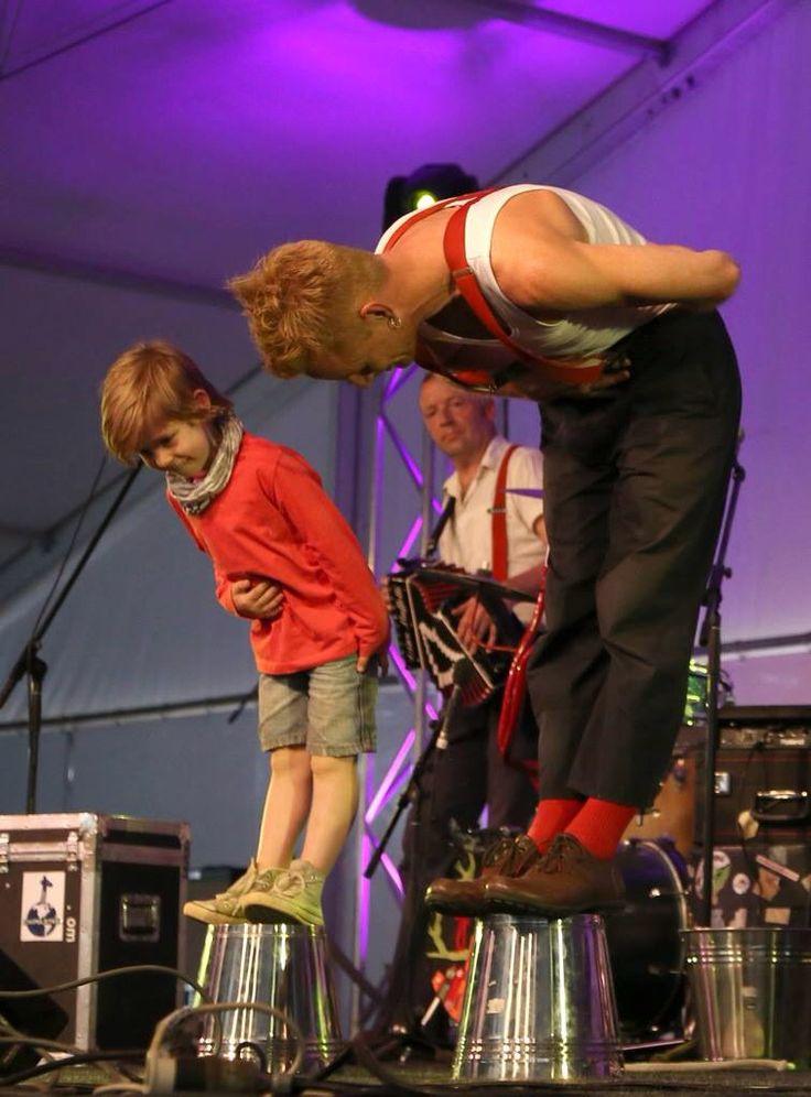 Onstage with The Chipolatas Fairbridge Festival 2014