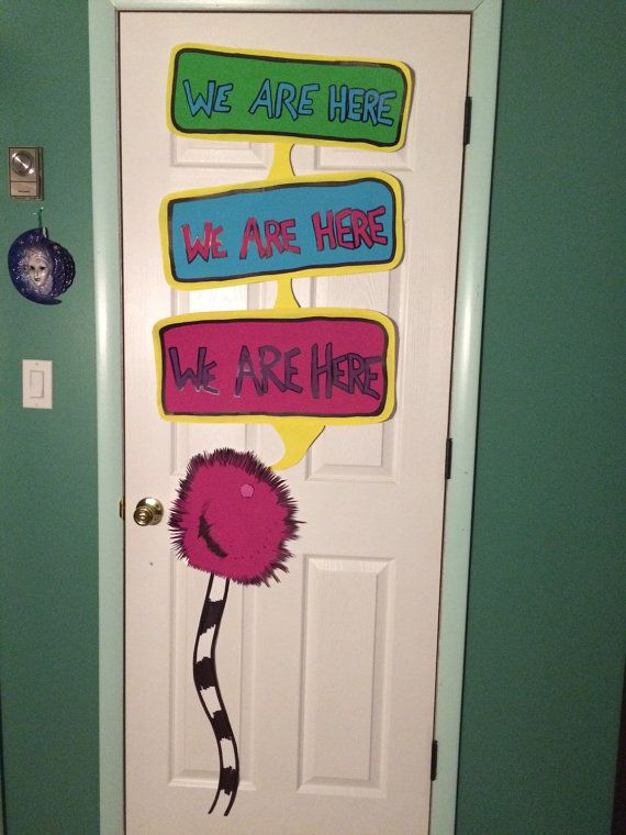 Hey, I found this really awesome Etsy listing at https://www.etsy.com/listing/216887790/horton-hears-a-who-we-are-here-sign
