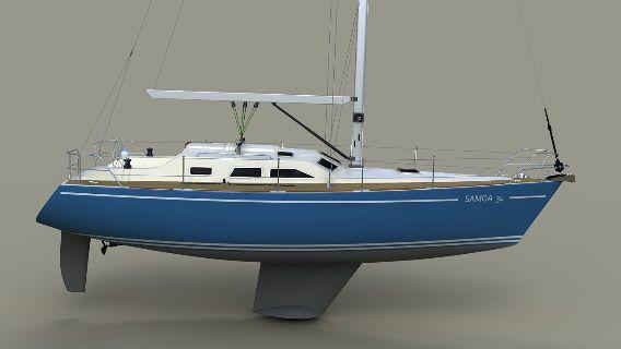 BG Yacht Design - Samoa 34 | яхты in 2019 | Yacht design