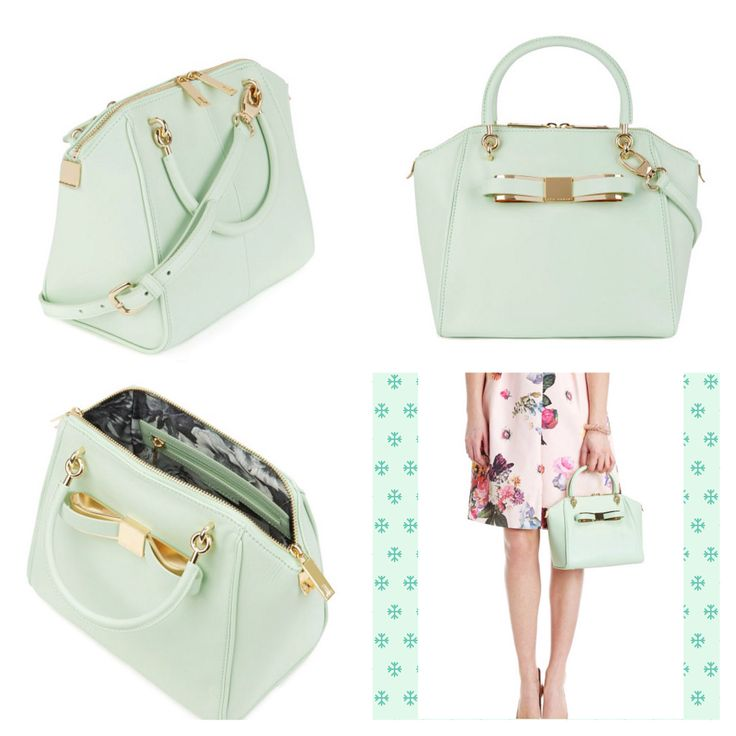Bandook Bow Tote Ted Baker's bag. I want this so much it hurts!