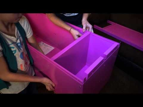 How to Assemble a Large Kids Locker | SchoolLockers.com - YouTube #howto #kidslockers