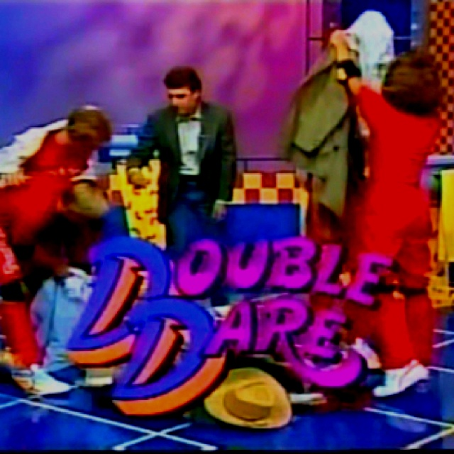 Double Dare Nickelodeon game shows, 80s kids, Childhood toys