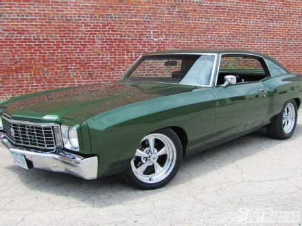 1972 Chevrolet Monte Carlo - now this was a Monte Carlo~  I always liked a 75!