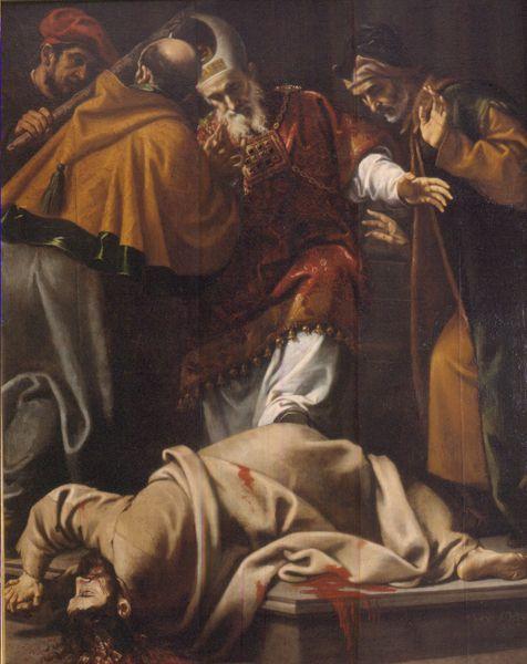 MARTIRIO DE SANTIAGO EL MENOR Pedro Orrente (Murcia, 1580 – Valencia, 1645) // Leyenda Dorada/ Golden Legend/ Legenda aurea or Legenda sanctorum