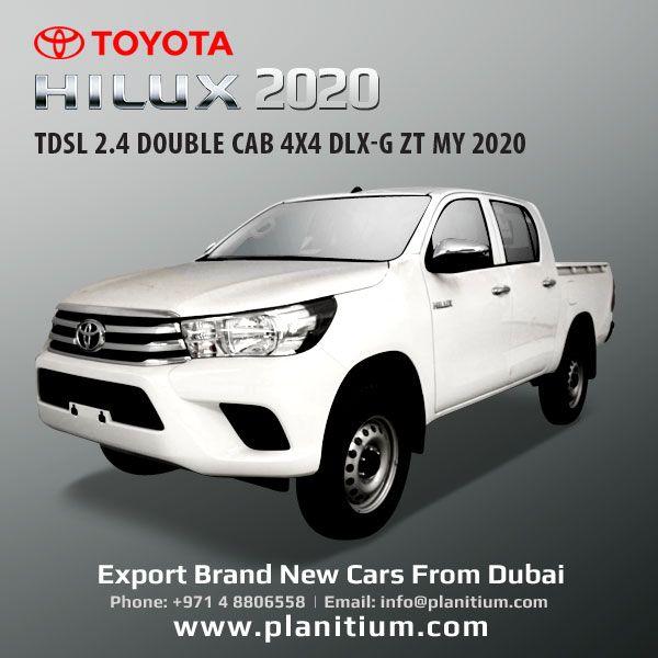 Export Hilux Diesel 4x4 Dlx G Pickup Dubai Latin America Toyota Hilux Toyota 4x4