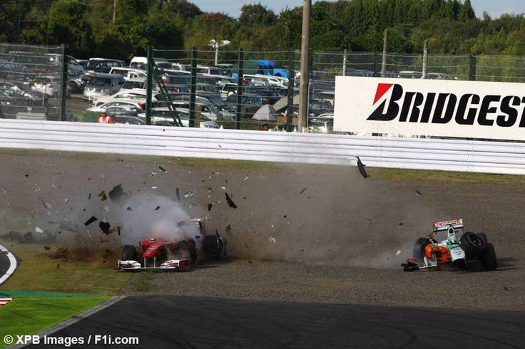 monaco grand prix crash 2014