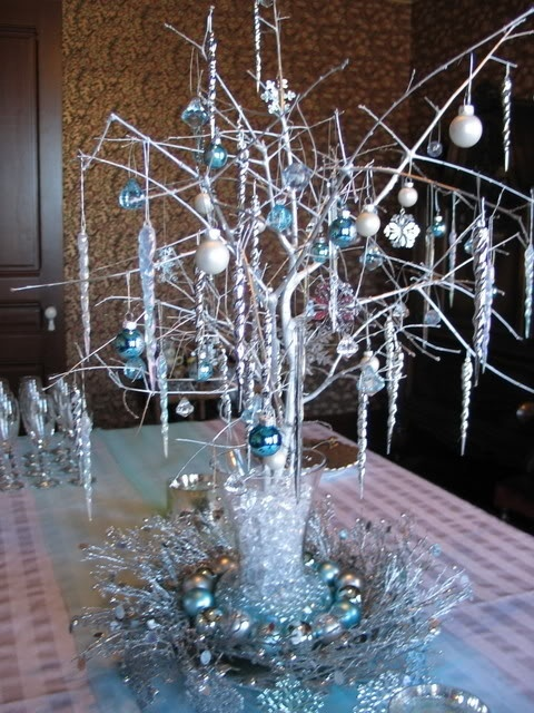 Ornament table centerpiece stuff to try pinterest