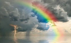 El arco iris terrenal.