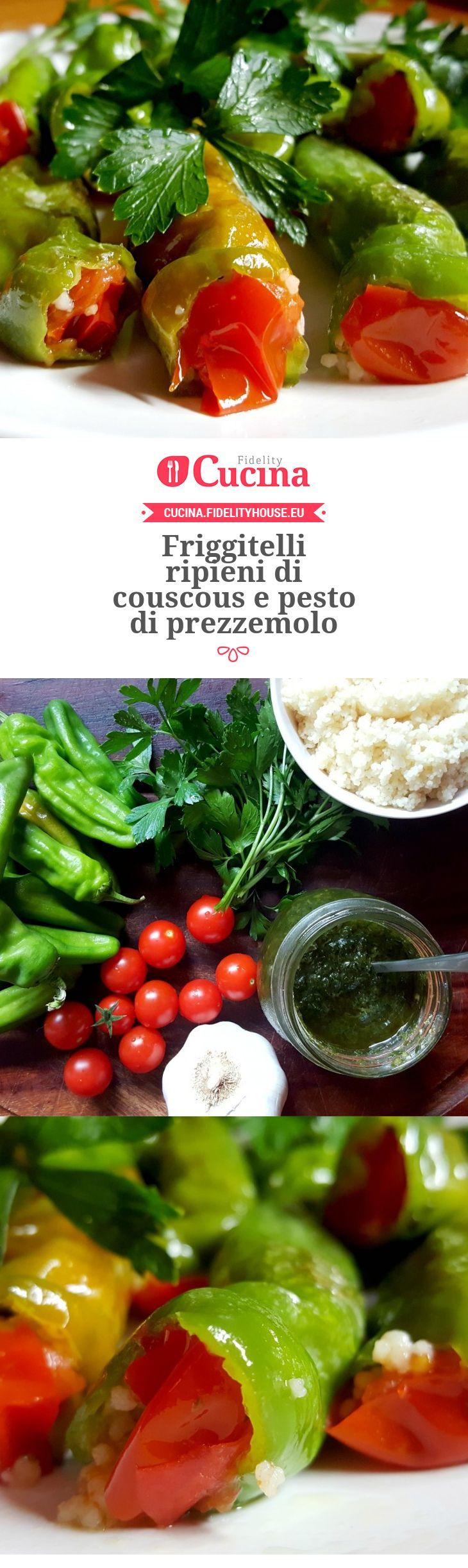 #Friggitelli ripieni di #couscous e pesto di prezzemolo della nostra utente Monica. Unisciti alla nostra Community ed invia le tue ricette!