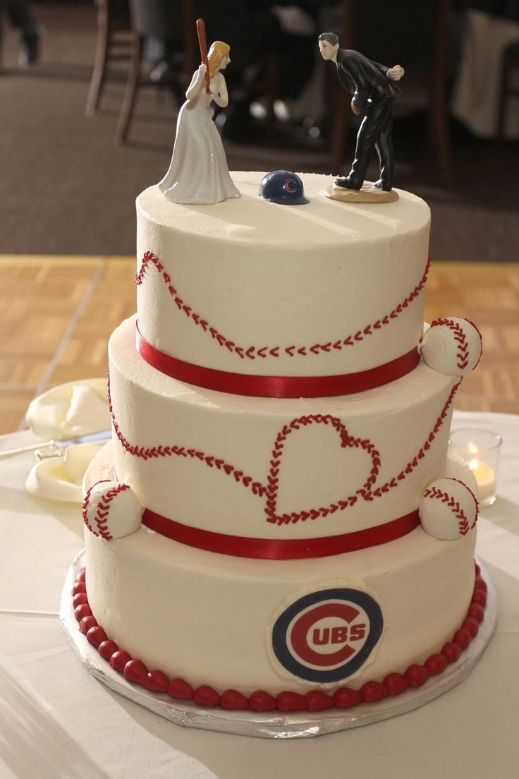 wedding baseball cake topper cubs wedding ideas chicago cubs wedding