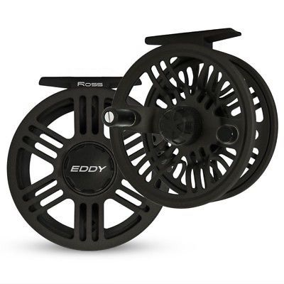 Fly Fishing Reels 23818: Ross Eddy Fly Reel - Size 5 6 - Color Black - New - Closeout -> BUY IT NOW ONLY: $49.95 on eBay!
