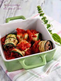 CUCCHIAIO E PENTOLONE: involtini di zucchine grigliate con prosciutto crudo e parmigiano