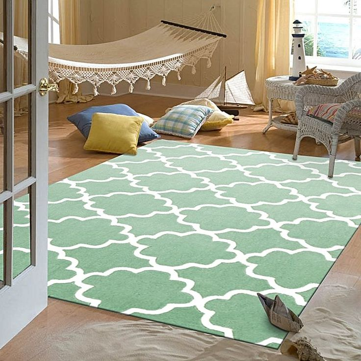 Accent Their Bedroom With Dreamy Modern Designs In The Lovely And Plush Cloudy Kids Rug From Culture