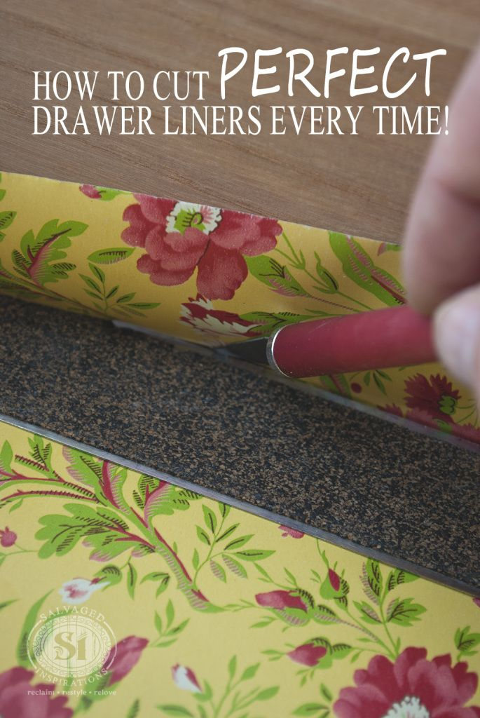 Cutting Decorative Drawer Liners 1 Tips And Organization Pinterest Drawers Organizing Organizations