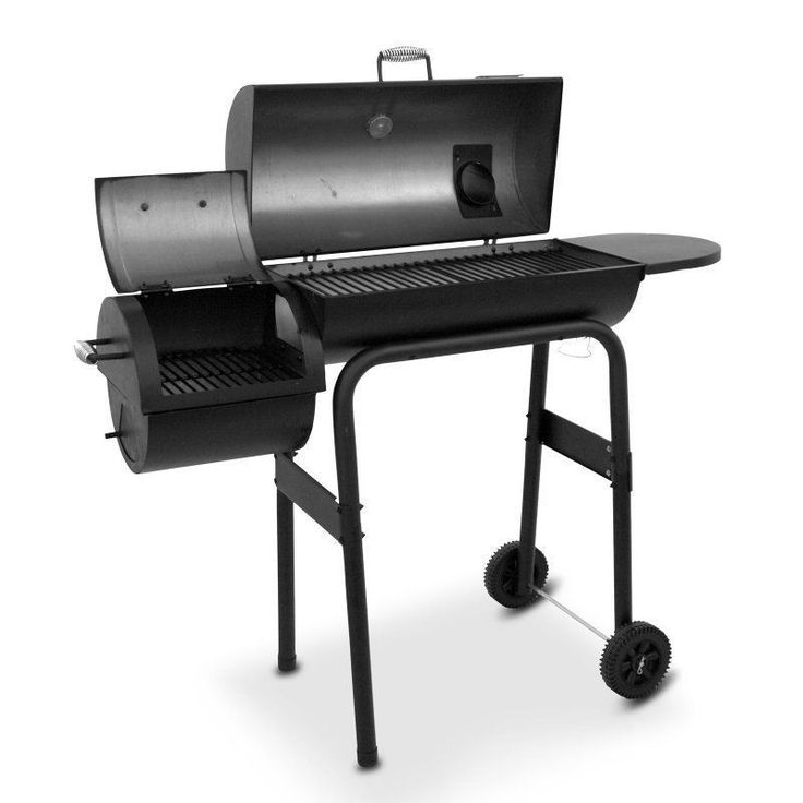Char-Broil Grill and Smoker Char Broil Grill Smoker Combo Ready For 4th of July