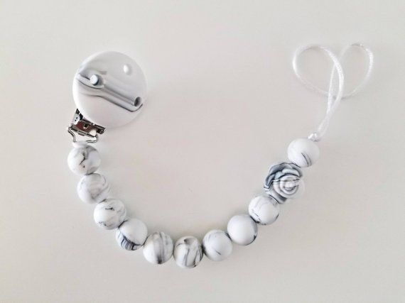 Pacifier clip baby boy gift Boy paci clips baby gift