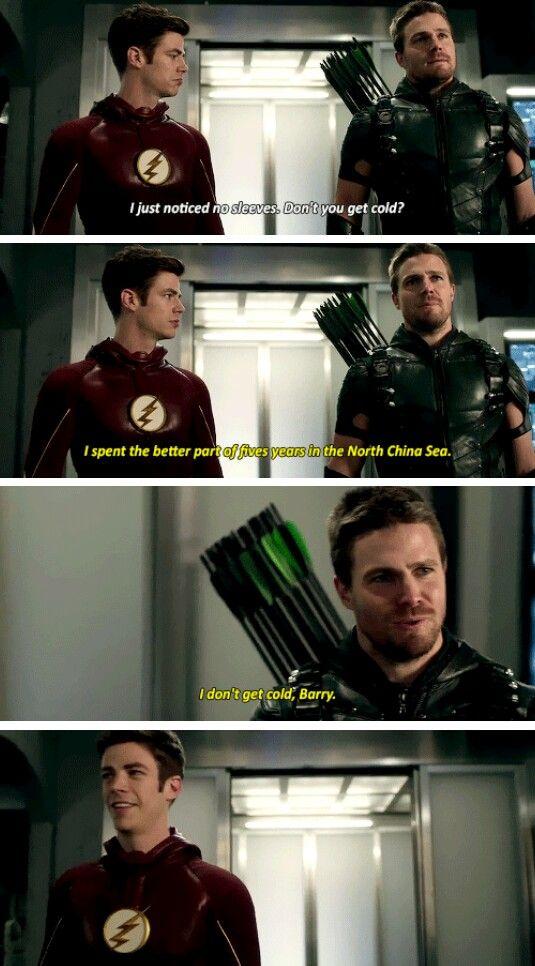 I don't get cold - Arrow