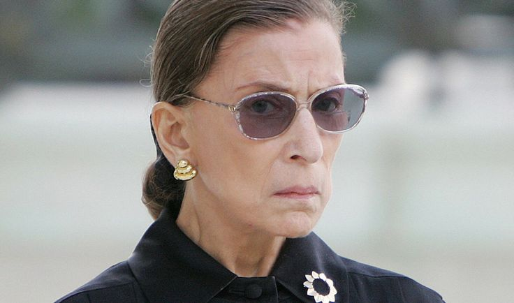 Supreme Court Justice Ruth Bader Ginsburg has more thanearned her reputation as a brilliant legal mind, champion of women and minorities, and general badass. The 82-year old is the oldest member of the Supreme Court, a moderate-liberal judge, and a