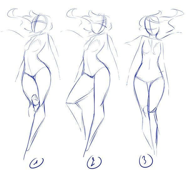 Women drawing pose reference deviantart rika-dono