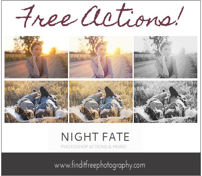 I LOVE all the free stuff at this site! Everything for photography!
