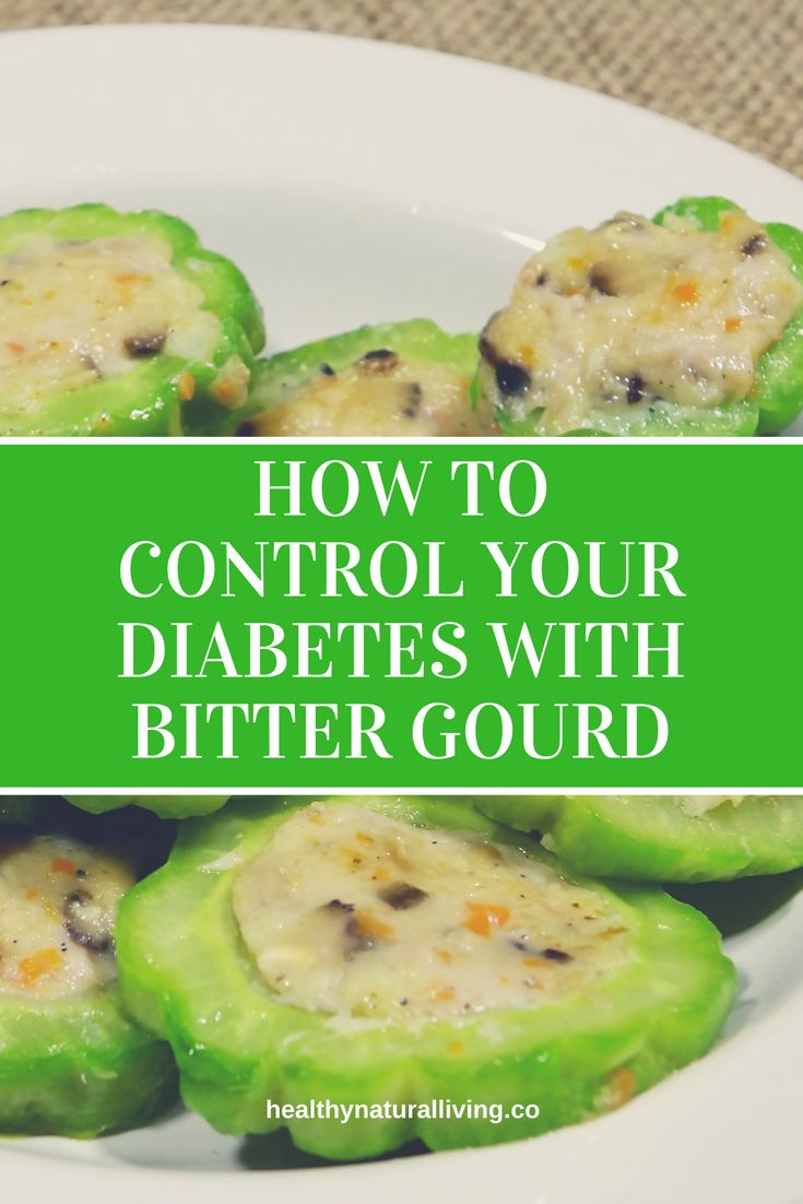 How To Control Your Diabetes With Bitter Gourd