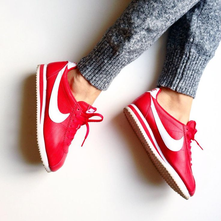 Sneakers Femme - Nike Cortez Rouge