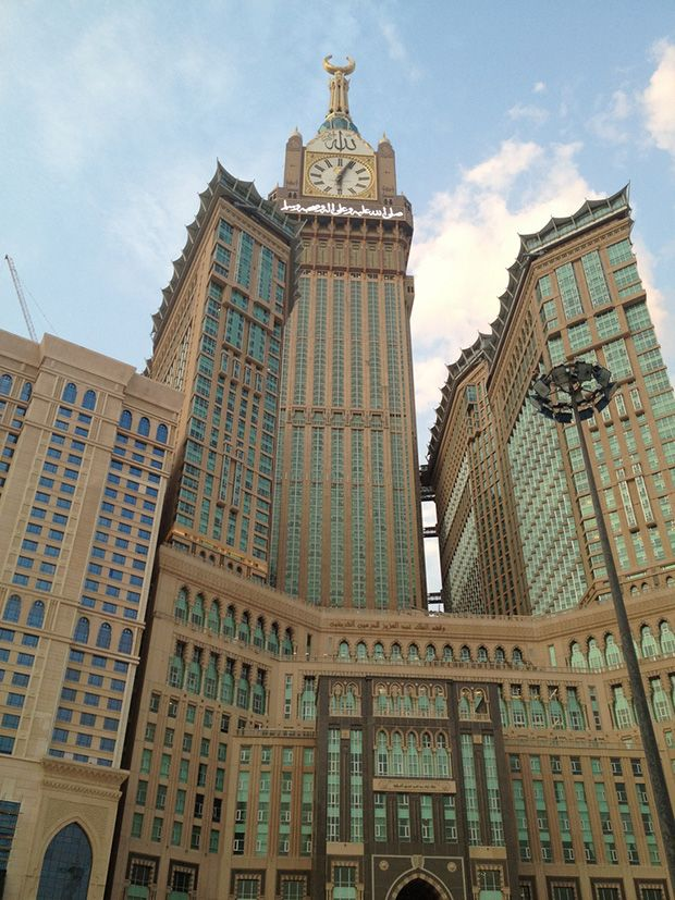 Makkah Royal Clock Tower Hotel in Mecca, Saudi Arabia // Skyscraper Sunday: World's 5 Tallest Buildings as of April 2013