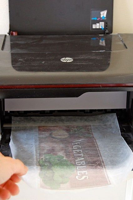 How to use Waxed Paper and a printer to do a Transfer ----