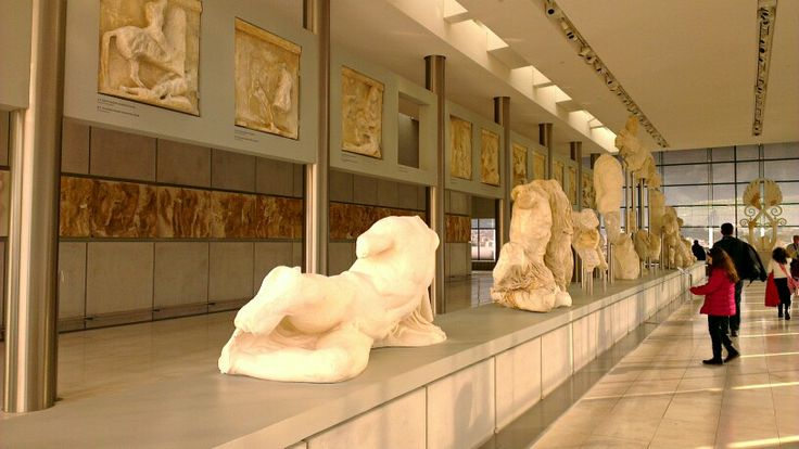 Exhibits at the #Acropolis museum, #Greece.