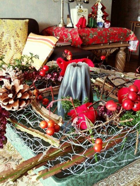 크리스마스 테이블 장식