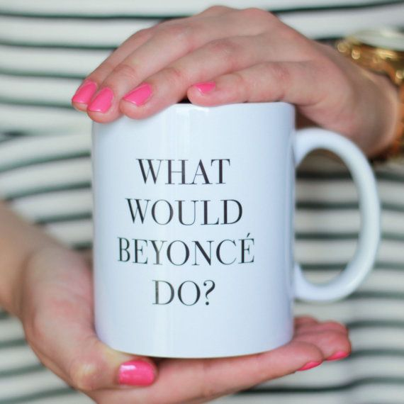 be inspired with this motivational mug - perfect for your morning coffee, tea, or sweet cocoa! DETAILS: - size 3.7H x 3.2 OD - holds 11 oz