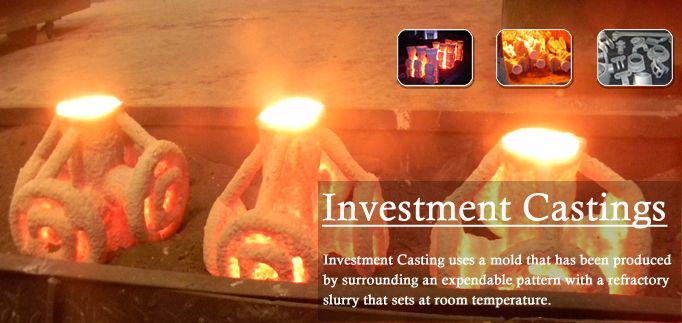 Trident Steels are manufacturers of Investment castings, Stainless steel investment casting in India.For more info - http://www.tridentinvestmentcastings.com/index.php