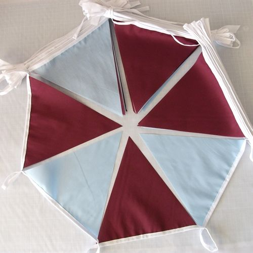 10m Aston Villa FC Colours Fabric Bunting