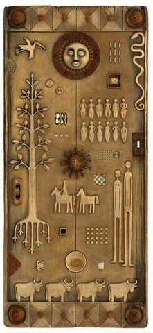 Tribal Story Door  Robyn Gordon  South Africa